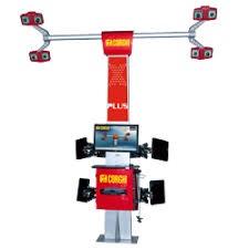 thiết bị kiểm tra góc đặt bánh xe corghi 3d